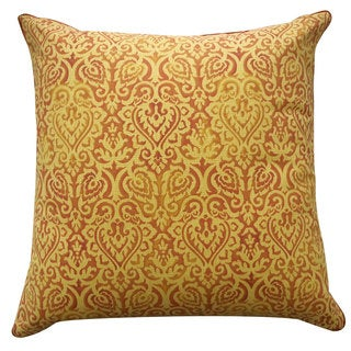 Jaipur Orange Throw Pillow