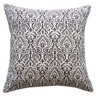 Jaipur Black Throw Pillow