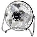 Impress IM-709V 9-inch Chrome High Velocity 3-speed Floor Fan