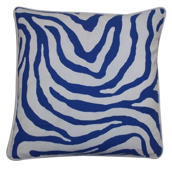 Jiti Desert Blue OutdoorThrow Pillow