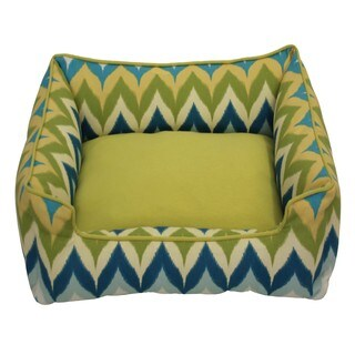 Dripping Paint Blue Chill Pet Bed