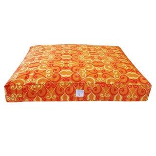 Iron Orange Chill Pet Bed