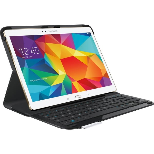 "Logitech Type-S Keyboard/Cover Case for 10.5"" Tablet - Black"