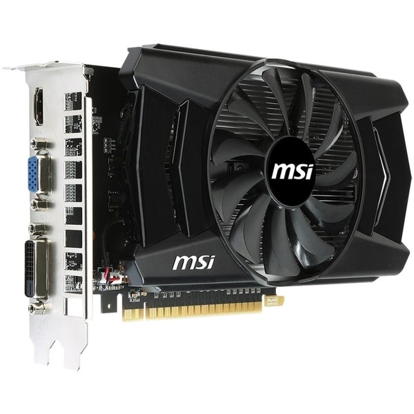 MSI N750TI-2GD5/OC GeForce GTX 750 Ti Graphic Card - 1.06 GHz Core -