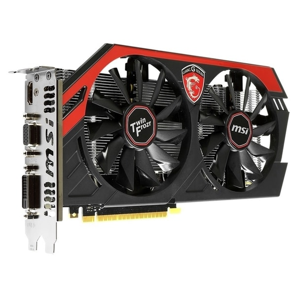 MSI N750TI TF 2GD5/OC GeForce GTX 750 Ti Graphic Card - 1.09 GHz Core