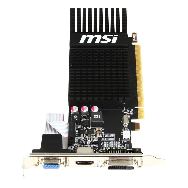 MSI R5 230 2GD3H LP Radeon R5 230 Graphic Card - 625 MHz Core - 2 GB