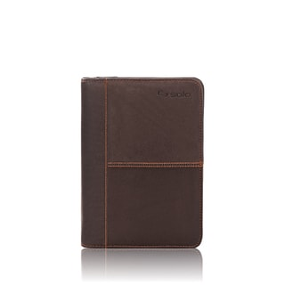 Solo Vintage Collection Leather iPad Mini Case with Note Pad