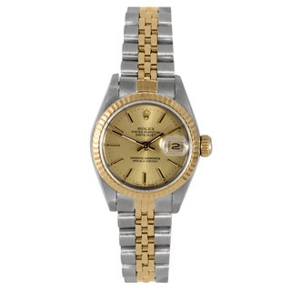 Pre-owned Rolex Women's Two-tone Jubilee Bracelet Watch
