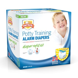 Potty Patrol Boy's Alarm Diapers Refill Kit