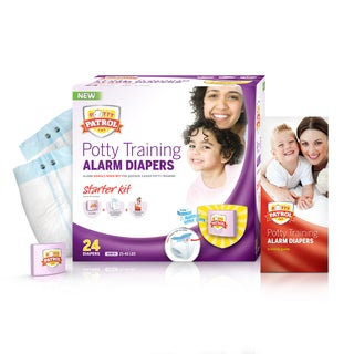 Potty Patrol Girls' Alarm Diapers Starter Kit