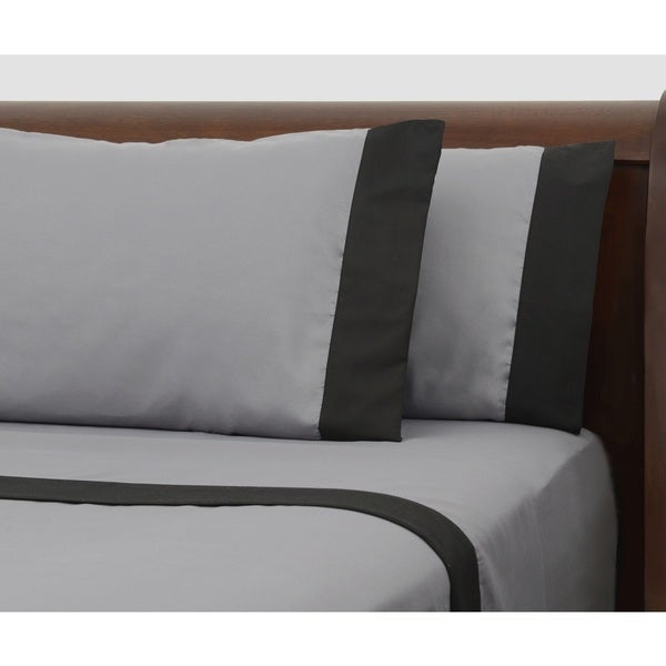 Presidential Suite Black Label Grey Sheet Set