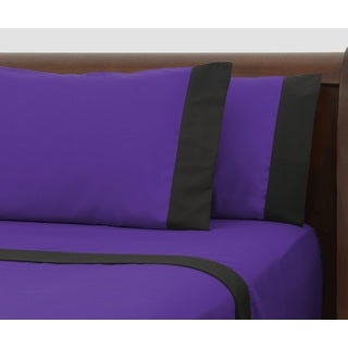 Presidential Suite Black Label Purple Sheet Set