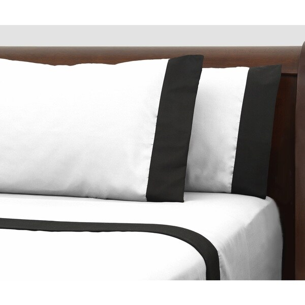 Presidential Suite Black Label White Sheet Set