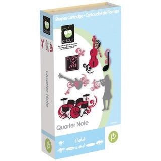 Cricut Quarter Note Cartridge