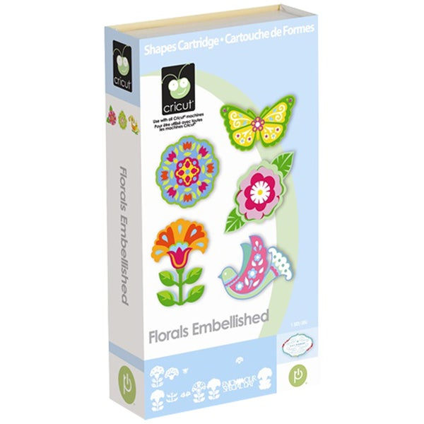 Cricut Floral Embellished Cartridge