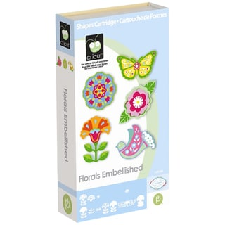 Cricut Floral Embellished Cartridge