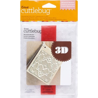 Cricut Mountain Meadow 3D Embossing Folder