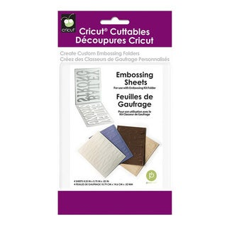 Cricut Embossing Sheets