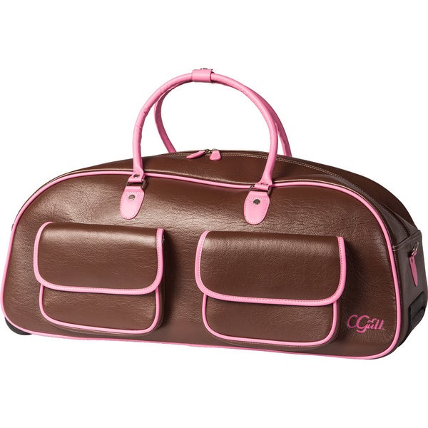 Cgull Expressions Leather Rolling Tote