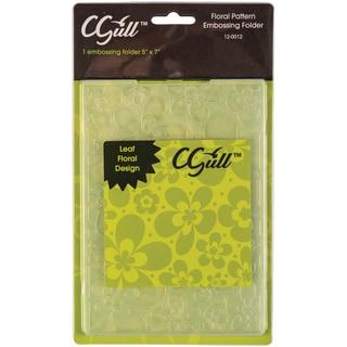 Cgull 12-0012 Flowers Embossing Folder