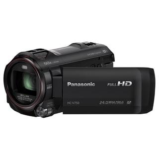 "Panasonic HC-V750K Digital Camcorder - 3"" LCD - BSI MOS - Full HD - B"