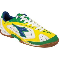 Men's Diadora Quinto III ID White/Green