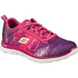 Women's Skechers Flex Appeal Trade Winds Pink