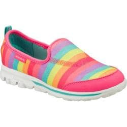 Girls' Skechers GOwalk Stripy Pink/Multi