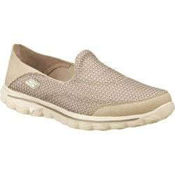 Women's Skechers GOwalk 2 Convertible Natural