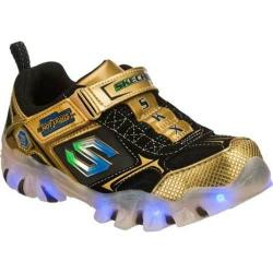 Boys' Skechers Magic Lites Street Lightz Shiftz Gold/Black