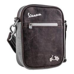 Vespa Small Sling Bag Brown