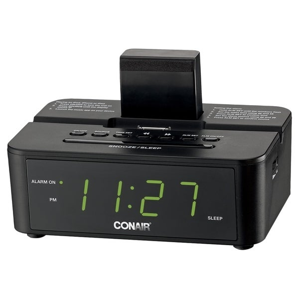 Conair Hospitality CRD500 Desktop Clock Radio - Apple Dock Interface