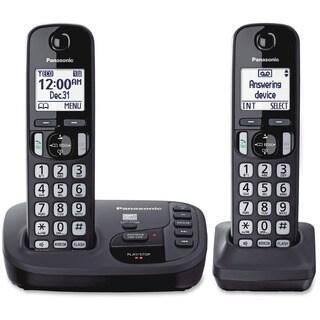 Panasonic KX-TGD222N DECT 6.0 1.90 GHz Cordless Phone - Champagne Gol