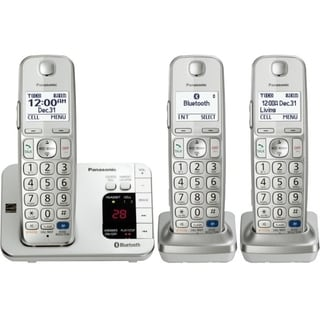 Panasonic Link2Cell KX-TGE263S DECT 6.0 1.90 GHz Cordless Phone - Sil