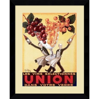 Robys - Robert Wolff 'Union, 1950' Framed Art Print 24 x 30-inch