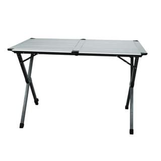First Gear Double-wide Aluminum Toll Top Table