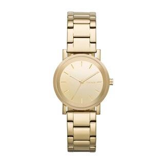 DKNY Women's NY2178 Soho Round Gold Watch
