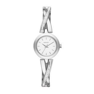 DKNY Women's NY2173 Crosswalk White Silver Watch