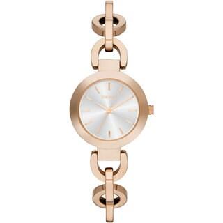 DKNY Women's NY2135 Stanhope Rosetone Chain Link Bracelet Watch