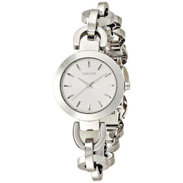 DKNY Women's NY2133 Stanhope Silvertone Chain Link Bracelet Watch