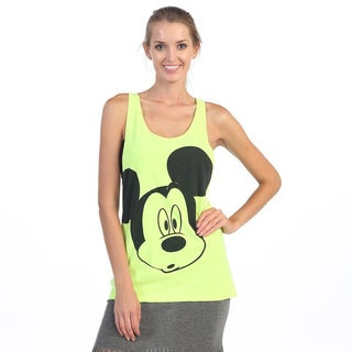 Hadari Women's Neon Green Mouse Tank Top