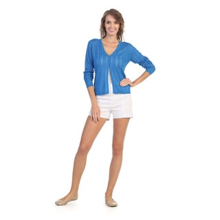 Hadari Women's Basic Knit Cardigan