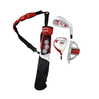 MOG 3 Piece Red Zone Jr Tube Golf Set, 5 & Under
