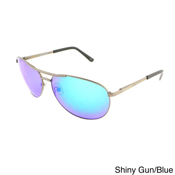 Anarchy 'Air Boss' Metal Alloy Aviator Sunglasses