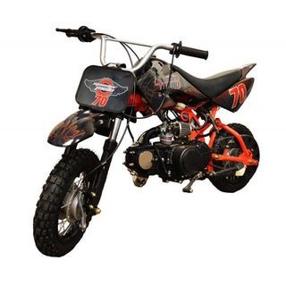 Monster Moto Red 70cc Pit Bike