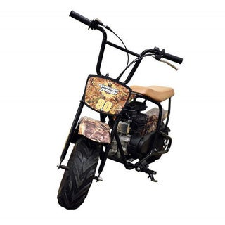 Monster Moto Camo Youth Mini Bike