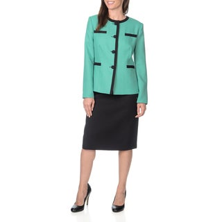 Danillo Women's Framed Jacket Skirt Suit