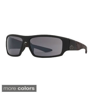 Anarchy Men's 'Gator Pit' Polarized Sport Wrap Sunglasses
