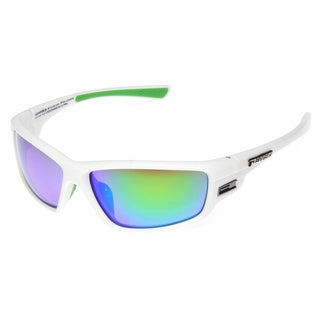 Pepper's Men's 'Crossfire' Sport Frame Polarized Sunglasses