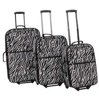 American Flyer Safari Collection 3-piece Luggage Set